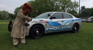 NWRPD won 2015 best Police Car at Hempfield Cops & Rodder show
