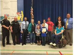"NWRPD at Rheems Elementary for ""Do the Right Thing."""